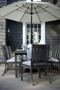 Outdoor Cushion Cleaning & Storage